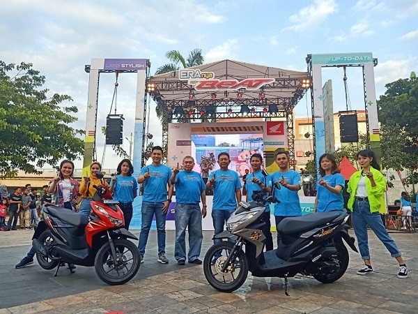 Capella Honda Launching All New BeAT All Series, Hadir dengan 9 Warna Baru