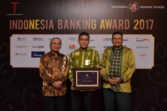 BRK Dianugerahi The Best Bank in Digital Services