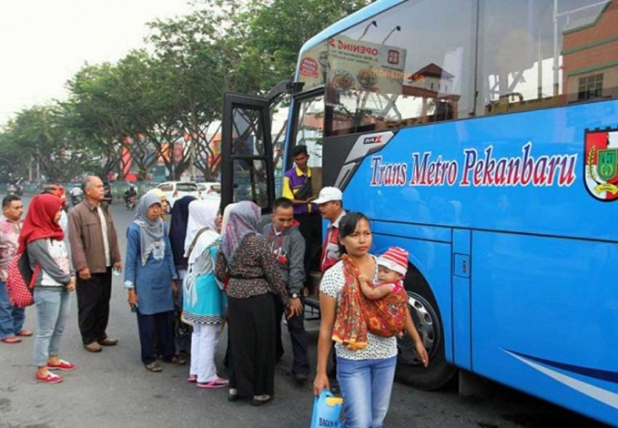 Operasional Bus TMP Kembali Normal