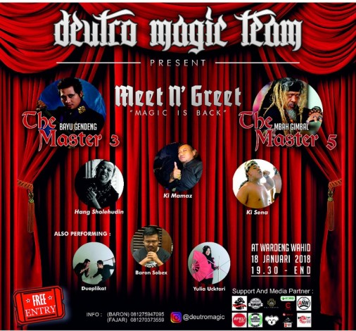 Deutro Magic Team Datangkan Magician Nasional
