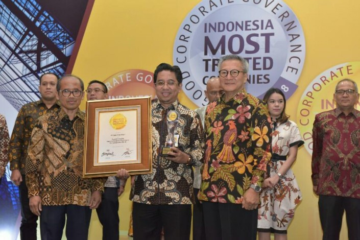 BRK Raih Trusted Company Based on CGPI pada Ajang Indonesia Most Trusted Company Award 2018