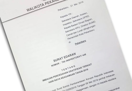 Firdaus Keluarkan Surat Edaran Pns Dilarang Pakai Mobil Dinas Untuk
